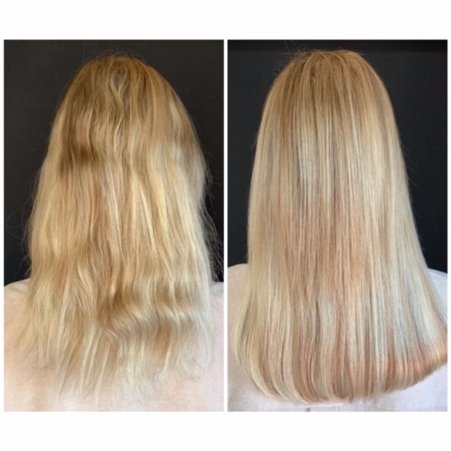 before and after wow hairweaves lois